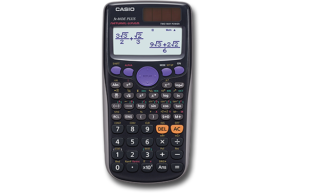 Casio fx 86de plus programmierbar